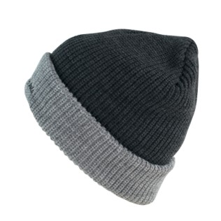 Dwukolorowa czapka męska