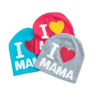 Czapka dziecięca I Love Mama