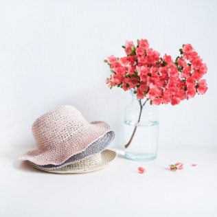 Kapelusz Feminine summer [HANDMADE]