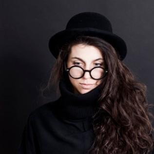 Okulary zerówki Francuski-Look