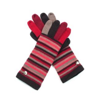 Rękawiczki Kolorowe Pasy