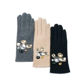 Rękawiczki i błyskotki