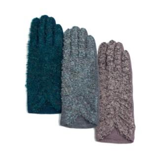 Wełniane rękawiczki Szyk i bukle