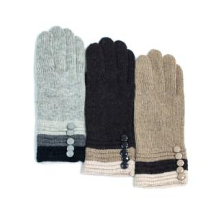 Rękawiczki wełniane Trzy Kolory