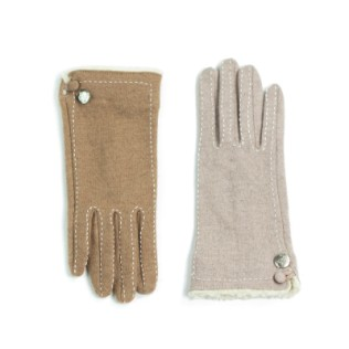 Rękawiczki i w środku futerko