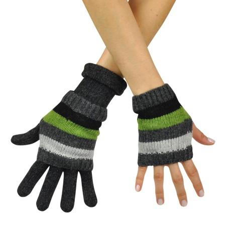 Rękawiczki / mitenki w paseczki