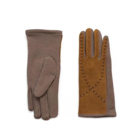 Rękawiczki Zamszowa sinusoida