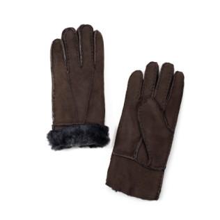 Skórzane rękawiczki Kożuszkowe