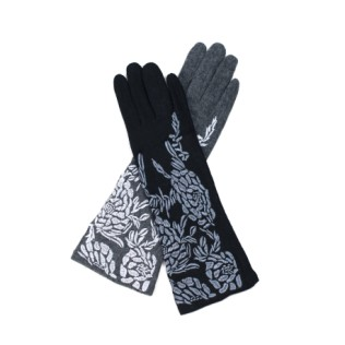 Rękawiczki Haftowana flora