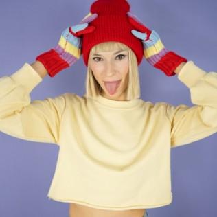 Rękawiczki Kolorowe Kredki