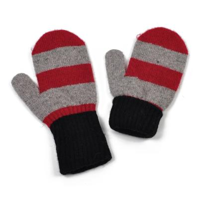 Rękawiczki Zimowe pasiaki