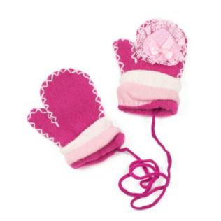 Rękawiczki dziecięce Serduszko