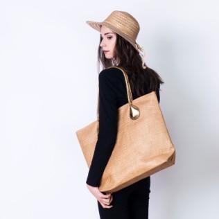 Duża torba-koszyk na lato